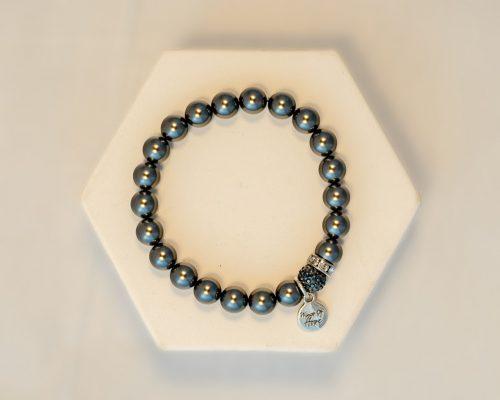 Pearl Black Bracelet