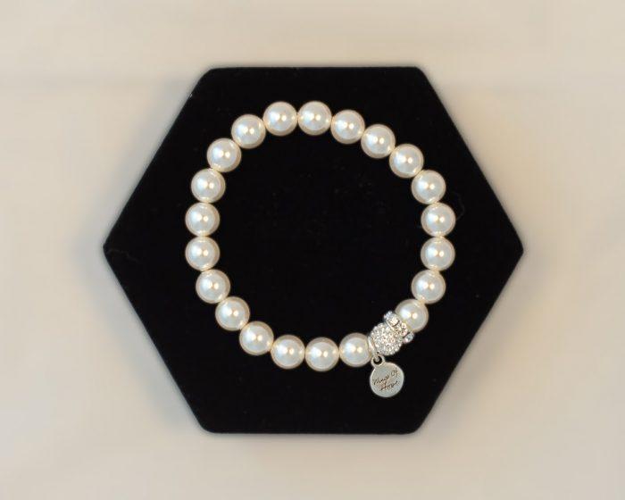 Pearl White Braclet
